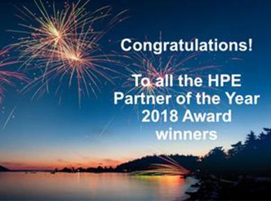 Hewlett Packard Enterprise Partner Awards 2018